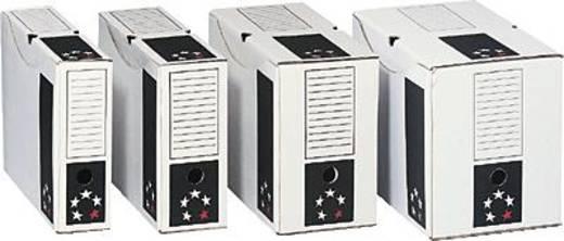 5 Star™ Archivschachteln 250x330x80mm weiß Karton