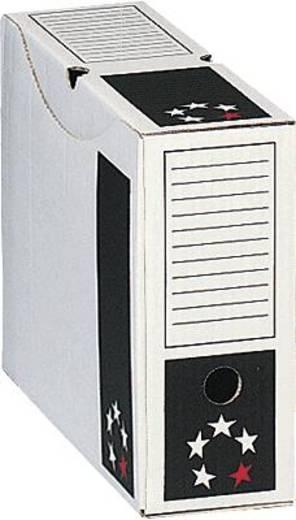 5 Star Archivschachteln 250x330x100mm weiß Karton