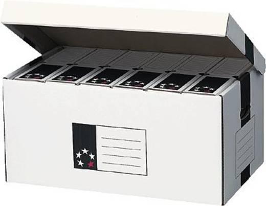 5 Star™ Archiv-Container Deckel oben 520x260x340mm weiß Karton Weiß (L x B x H) 340 x 520 x 260 mm 5Star