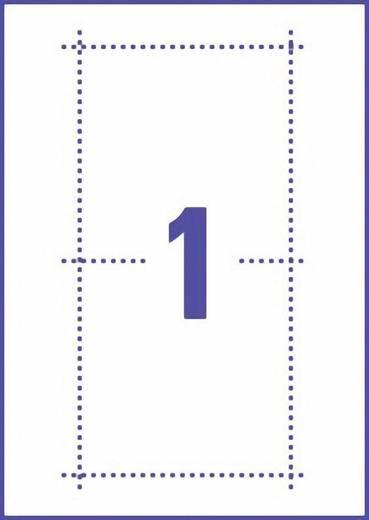 Avery-Zweckform CD Slim Box Einleger J8431-25 (B x H) 242 mm x 121 mm Weiß 25 St. Spezialbeschichtet Tinte
