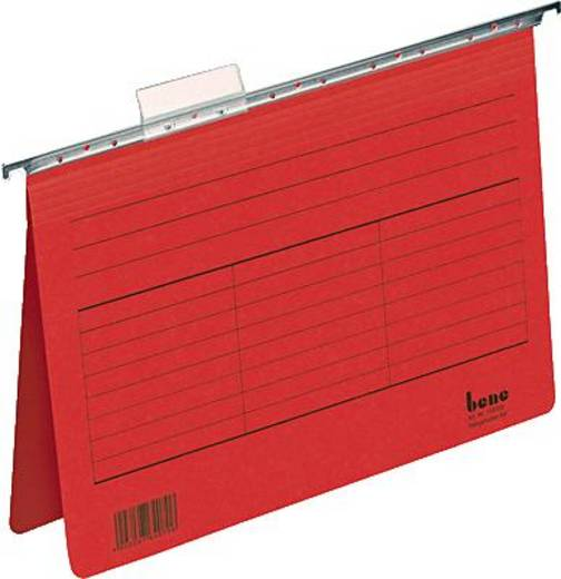 Bene Hängehefter Vetro Mobil/116705RT für DIN A4 rot Karton 230g/qm Inh.5