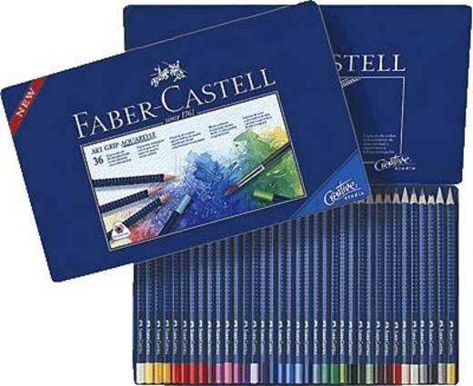FABER-CASTELL Aquarell-Stifte ART GRIP/114236 Inh.36