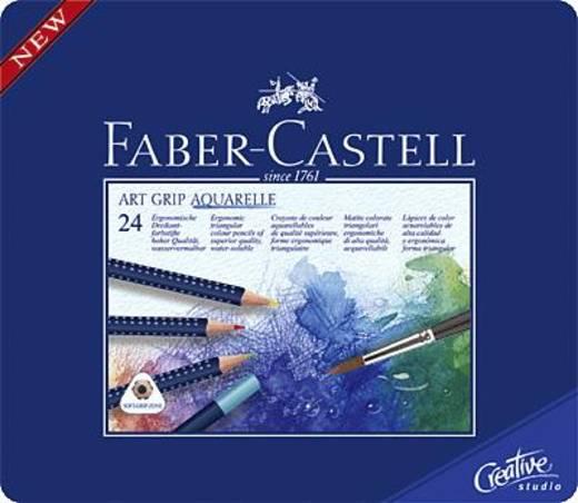 FABER-CASTELL Aquarell-Stifte ART GRIP/114224 Inh.24