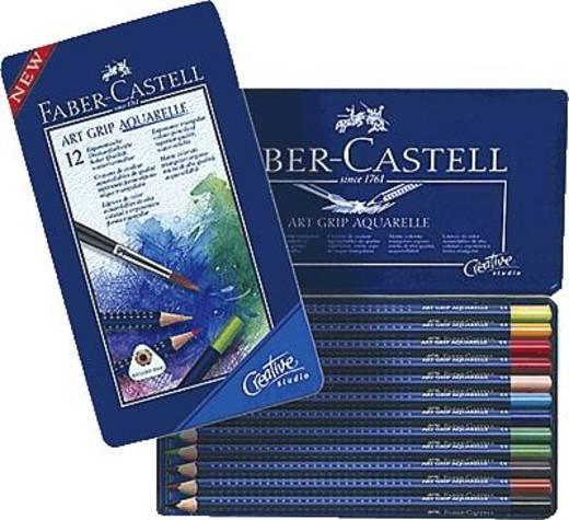 FABER-CASTELL Aquarell-Stifte ART GRIP/114212 sortiert Inh.12