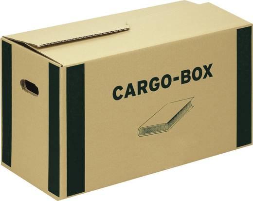 Smartboxpro Bücherbox/118700122 560 x 330 x 293 mm braun/grün 585 x 300 x 350 mm