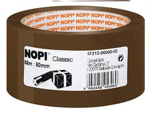 Packband TESA Nopi® Braun (L x B) 66 m x 50 mm Acryl Inhalt: 1 Rolle(n)