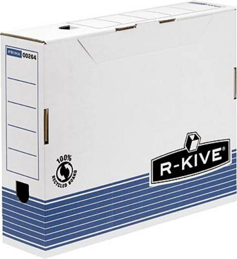 Fellowes Archivbox 80 R-Kive Prima/0026401 80x311x255 mm blau/weiß