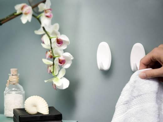 Powerstrips® Haken Large oval Weiß 58013-00049 TESA Inhalt: 2 St.