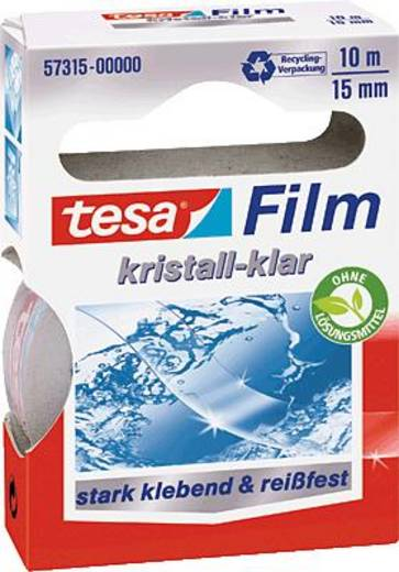 tesafilm tesafilm® Transparent (L x B) 10 m x 15 mm tesa 57315-00000-01 1 Rolle(n)