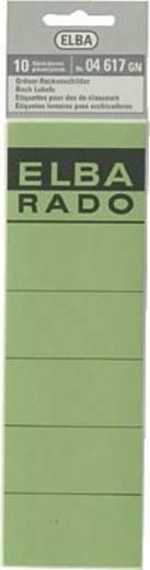 Elba Rückenschilder/04617GN grün Inh.10
