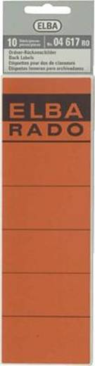 Elba Rückenschilder/04617RO rot Inh.10