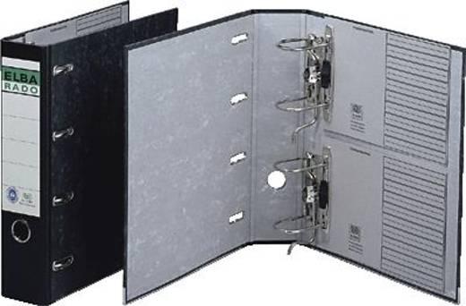 Elba Doppelordner rado/10409SW 2 x A5 quer schwarz
