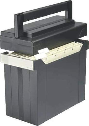 Elba Hängebox go-set-go/80492SW für DIN A4 schwarz Polystyrol
