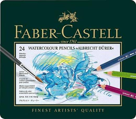 FABER-CASTELL Albrecht Dürer Künstleraquarellstift/117524 sortiert Inh.24