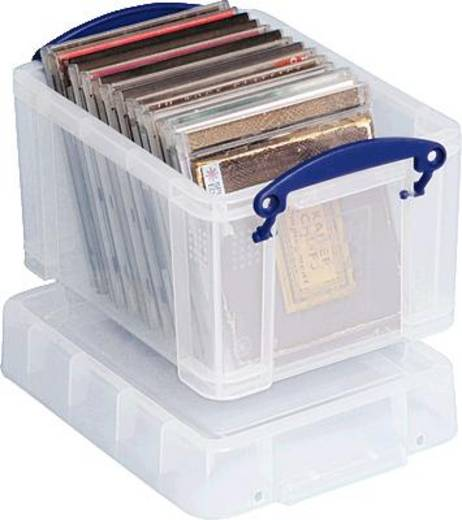 Really Useful Box Aufbewahrungsbox 3C Transparent 3 l (B x H x T) 245 x 160 x 180 mm