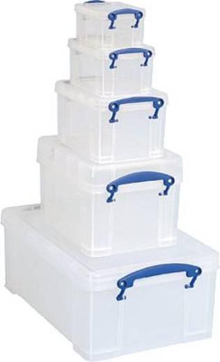 Really Useful Products 5 in 1 Bonus Pack 9L/3L/1.6L/0.7L/0.3L/9L5IN1C14-6 Transparent (L x B x H) 395 x 255 x 155 mm Really Useful Box