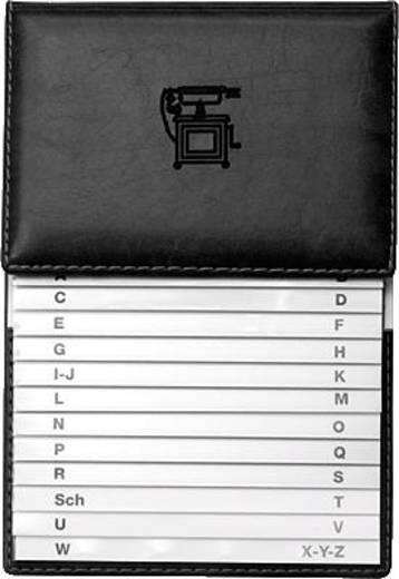 VELOFLEX Telefonschuppenregister/5157780 155 x 225 mm schwarz