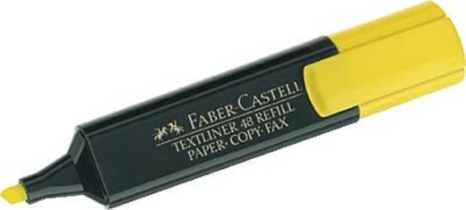 Faber-Castell Textmarker TEXTLINER 48 REFILL Gelb 1 mm, 5 mm