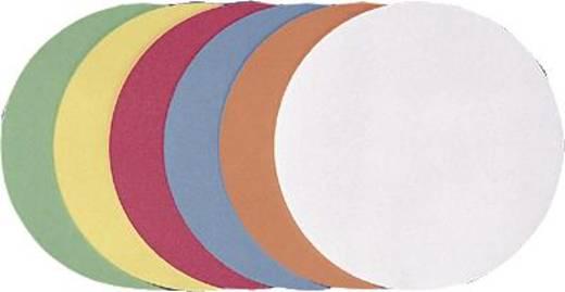 FRANKEN Moderationskarten Kreise/UMZ 14 05 Ø 14cm orange 130 g/qm Inh.500