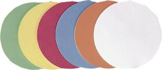 FRANKEN Moderationskarten Kreise/UMZ 10 05 Ø 9,5cm orange Inh.500