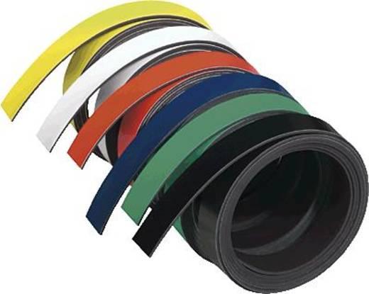 Magnetband Franken M802-10 (L x B) 1 m x 10 mm Schwarz