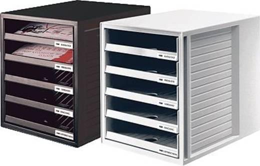 HAN Bürobox offen/1401-11 275x330x320mm lichtgrau Polystyrol (PS)