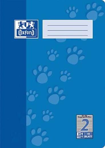 Oxford JUNIOR Heft A4 Lin. 2/385401602 2. Schuljahr 90 g/qm Inh.16 Blatt