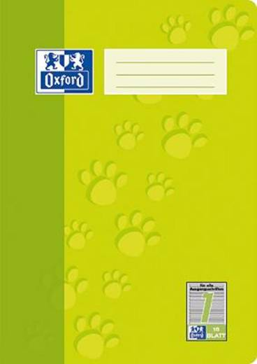 Oxford JUNIOR Heft A4 Lin. 1/385401601 1. Schuljahr 90 g/qm Inh.16 Blatt