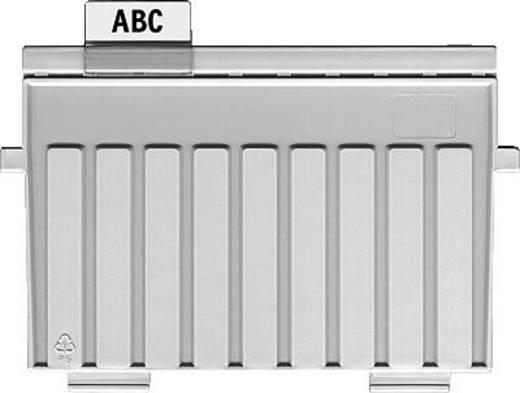 HAN Stützplatte für Karteikästen und -tröge/9024-11 A4 quer lichtgrau Kunststoff