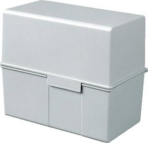 HAN Karteibox DIN A6 quer/976-11 grau Kunststoff