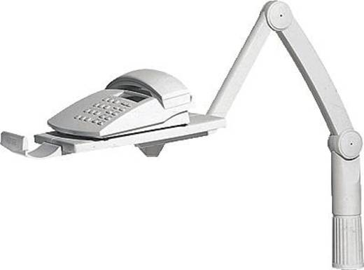 Telefon-Schwenkarm Hansa TSA5020002 Neigbar, Schwenkbar Lichtgrau 1 St.