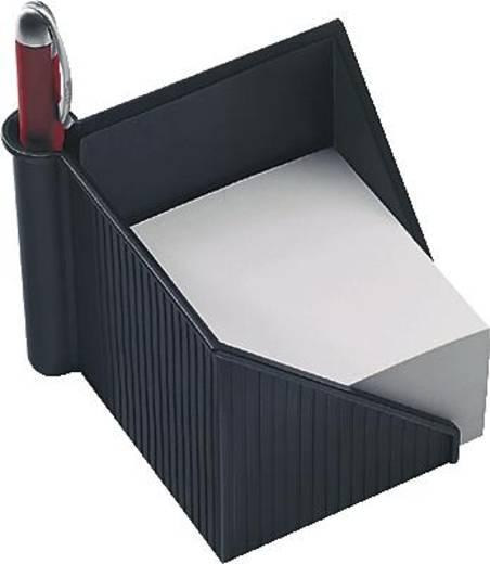 helit Zettelkasten / Stiftehalter Linear/H6304095 127x127x108mm schwarz