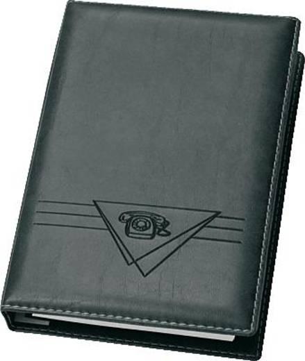 VELOFLEX Telefonringbuch Exquisit A5 schmal/4150780 145x225mm schwarz Weichfolie