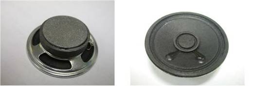 Miniatur Lautsprecher Geräusch-Entwicklung: 85 dB 0.200 W LSM-50 M/F, 8 Ohm 1 St.