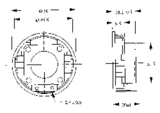 Miniaturlautsprecher LSM-K/F Serie Geräusch-Entwicklung: 83 dB 50 Ω Nennbelastbarkeit: 1000 mW 360 Hz Inhalt: 1 St.