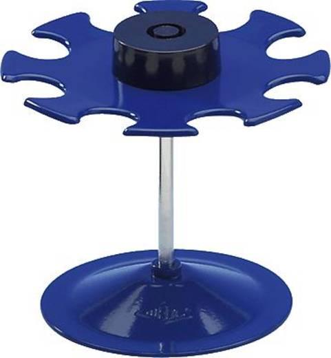 Wedo Stempelträger rund/64803 blau für 8 Stempel