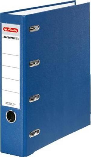 Herlitz Doppelordner PP blau/10842276