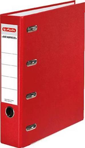 Herlitz Doppelordner PP A5, rot/10842268