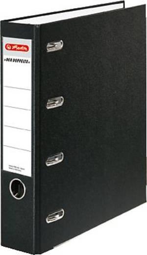Herlitz Doppelordner PP schwarz/10842250
