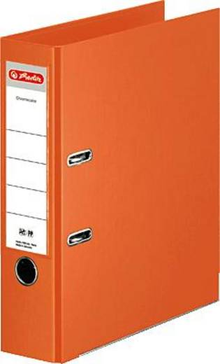 Herlitz Ordner Chromocolor, orange/10834471