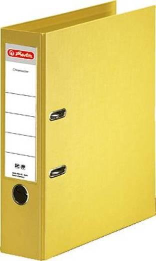 Herlitz Ordner Chromocolor, gelb/10834356