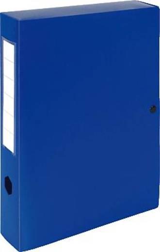 EXACOMPTA Dokumentenboxen PP/59632E 250x330x60mm blau