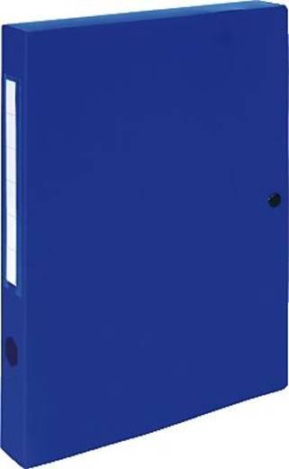EXACOMPTA Dokumentenboxen PP/54632E 250x330x40mm blau