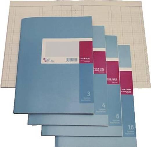 K + E Spaltenbücher mit Kopfleiste/8611071-7107K40KL A4 7 Spalten Inh.40 Blatt