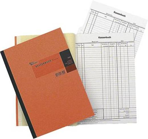 K + E Kassenbücher/8626532 DIN A4 hoch weiß/gelb Inh.2x50 Blatt