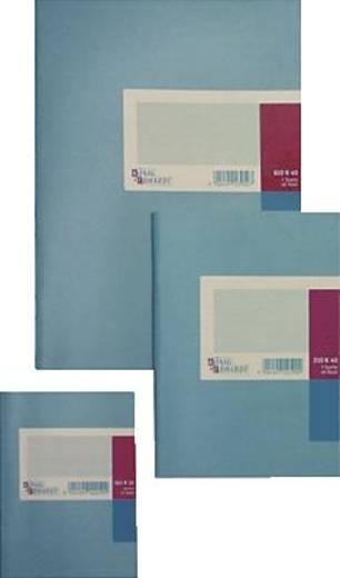 K + E Geschäftsbuch /8615211-300K40 A5 hellblau kariert 80g/qm Inh.40 Blatt