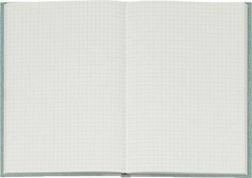 K + E Geschäftsbuch Deckenband/8615222-300P96 A5 kariert 80 g/qm Inh.96 Blatt