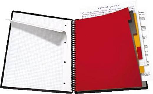 Oxford Collegeblock Organiserbook/357001801 DIN A4+ kariert 80 g/qm Inh.90 Blatt