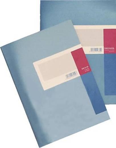 K + E Spaltenbuch fester Kopf/8614411-610K40 A4 blau 1 Spalte Inh.40 Blatt