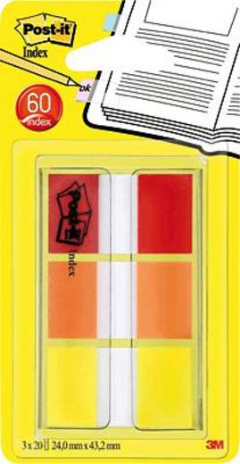 Post-it® Index Etui/680ROYEU rot/orange/gelb